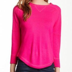 Sweet Romeo Hot Pink Crewneck Sweater EUC Large